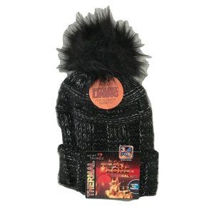 😀 3 for $20 NWT Heat Trendz Warm Thermal Knit Hat